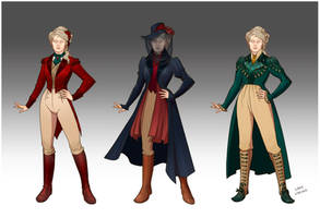 Wardrobe - Lady Driscoll by LiberLibelula