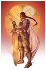 Commission - Sir Bregga Laydon by LiberLibelula