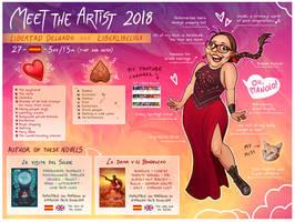 Meet the Artist 2018 - LiberLibelula by LiberLibelula