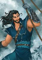 Commission - Captain James by LiberLibelula