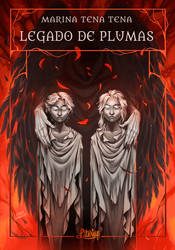 Book cover - Legacy of Feathers by LiberLibelula