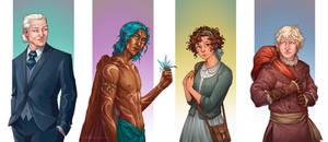 Characters - La Sociedad de la Libelula