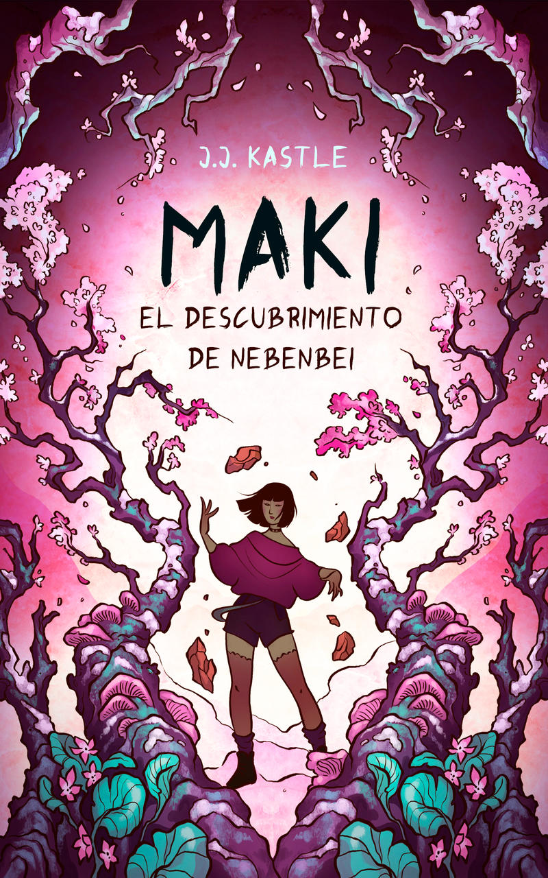 Book Cover - MAKI by LiberLibelula