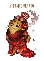 Steampunktato - Spanish Lady (with SPEEDPAINT)
