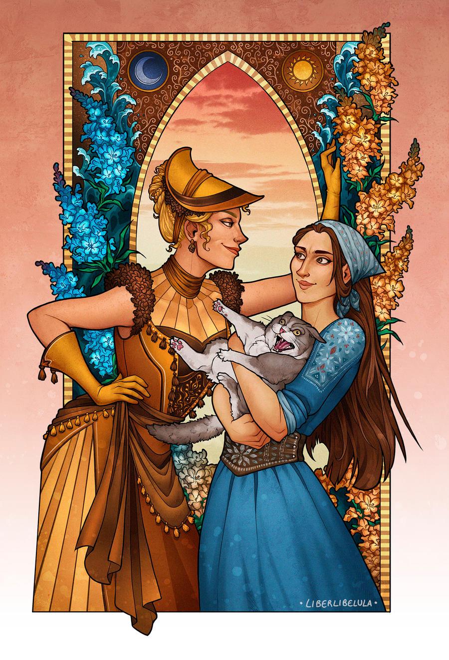 Beatrix, Berenice y Fogi en La visita del selkie - Cine de Escritor