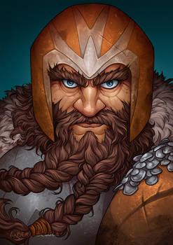 Commission - Hat the Dwarf