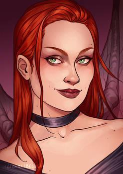 Commission - Elvira the Succubus