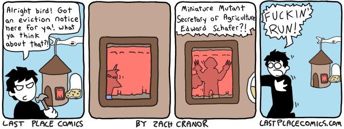 Bird House 2 by Exzachly