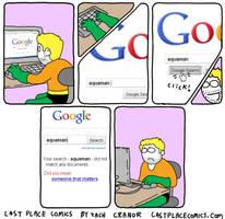 Aquaman googles himself by Exzachly