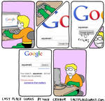 Aquaman googles himself
