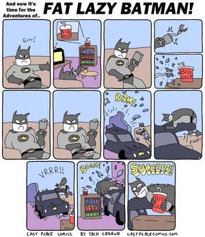 Fat Lazy Batman