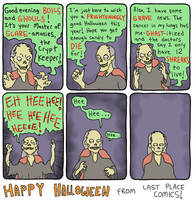 A Very Special Halloween Message by Exzachly