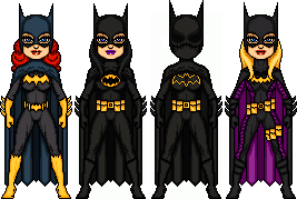 Batgirls by BAILEY2088