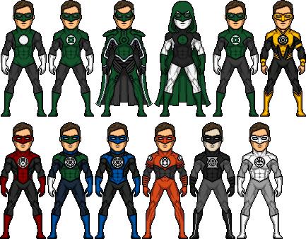 Hal Jordan the Greatest GL by BAILEY2088