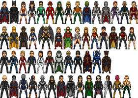 Live Action DC Universe by BAILEY2088