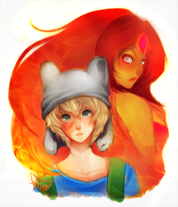 Finn And Flame Princes...