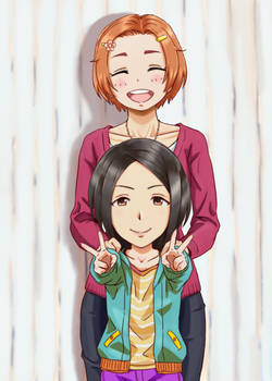 Kaoru and Ai Headswap