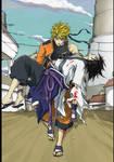 Naruto and Sasuke Ending