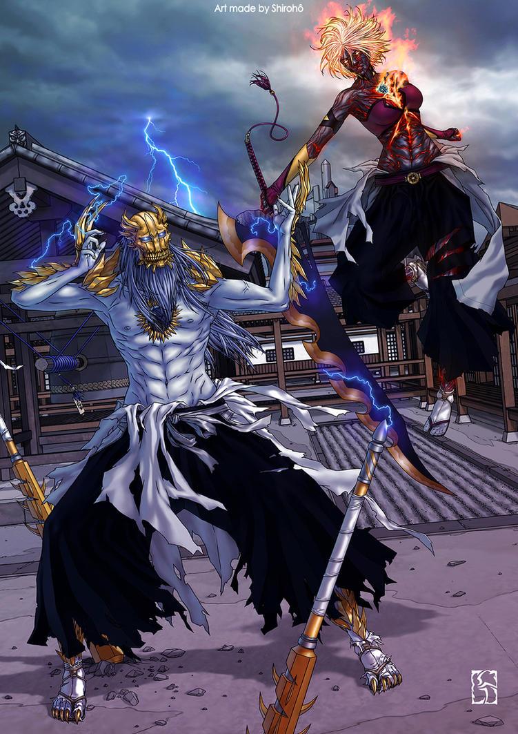 Commission : Matsunami Vs Nobunaga by Shiroho-Art