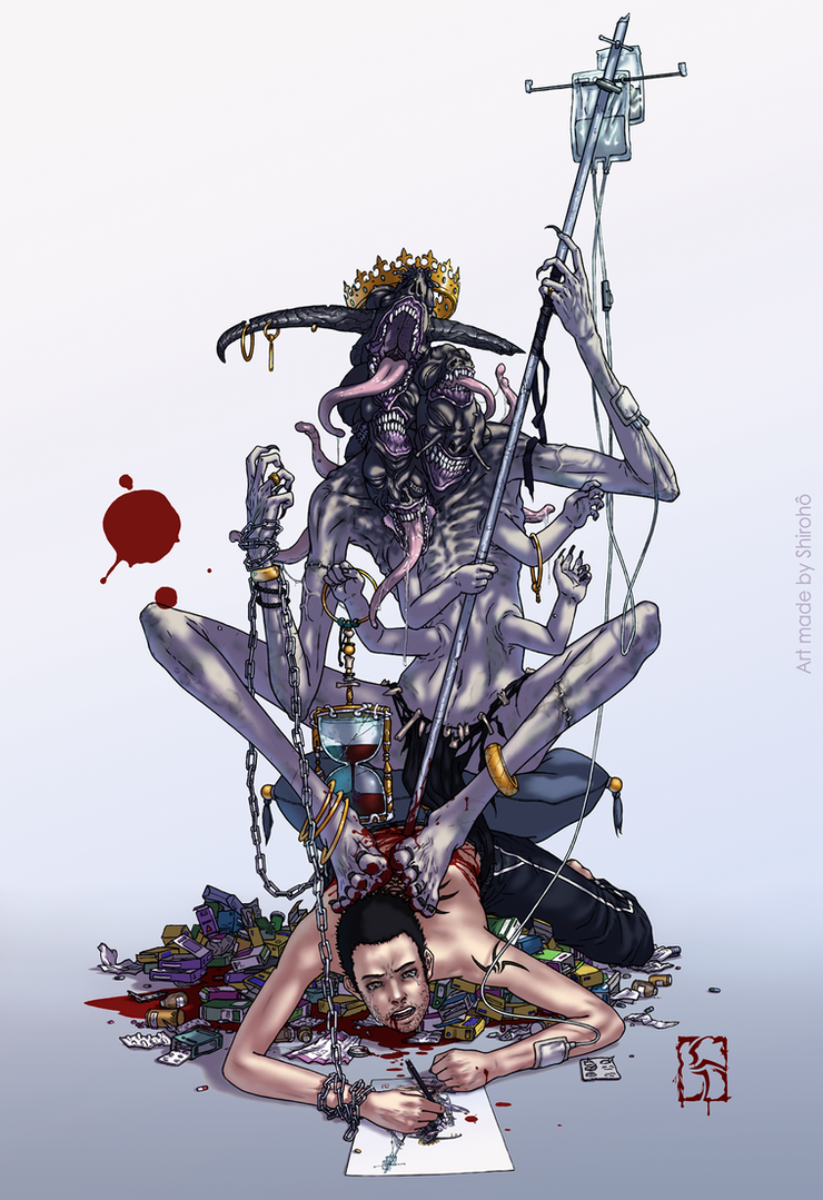 Maladie by Shiroho-Art