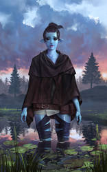 Ran, the water guardian by xlxbetoxlx