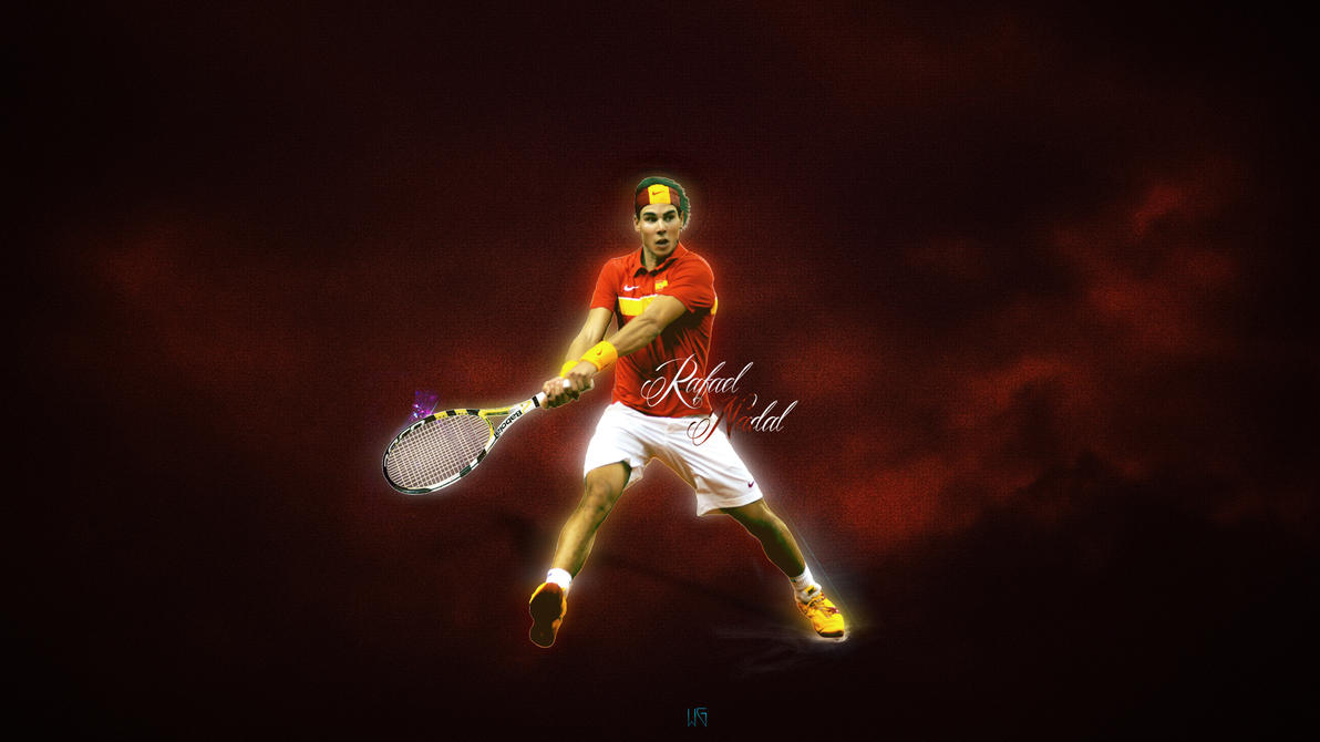 rafael nadal wallpaperbywarf on deviantart