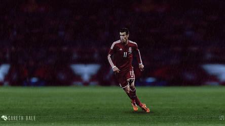 Gareth Bale by ByWarf