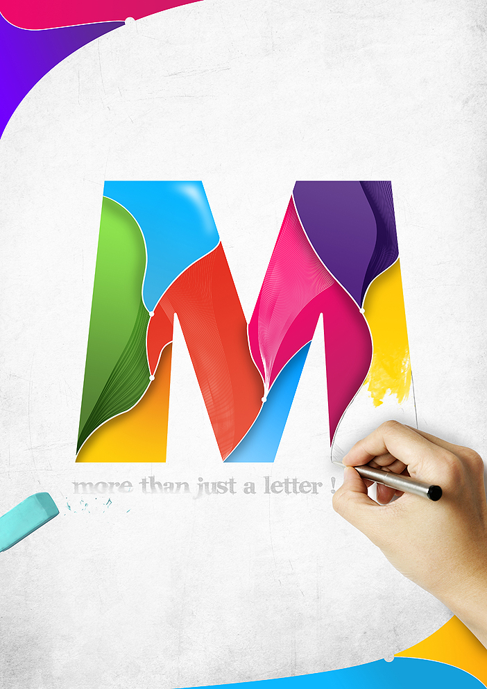 M - More than just a letter by Phektion