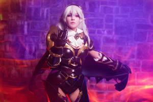 Dark blood Kamui- Fire Emblem fates by Rubyfia