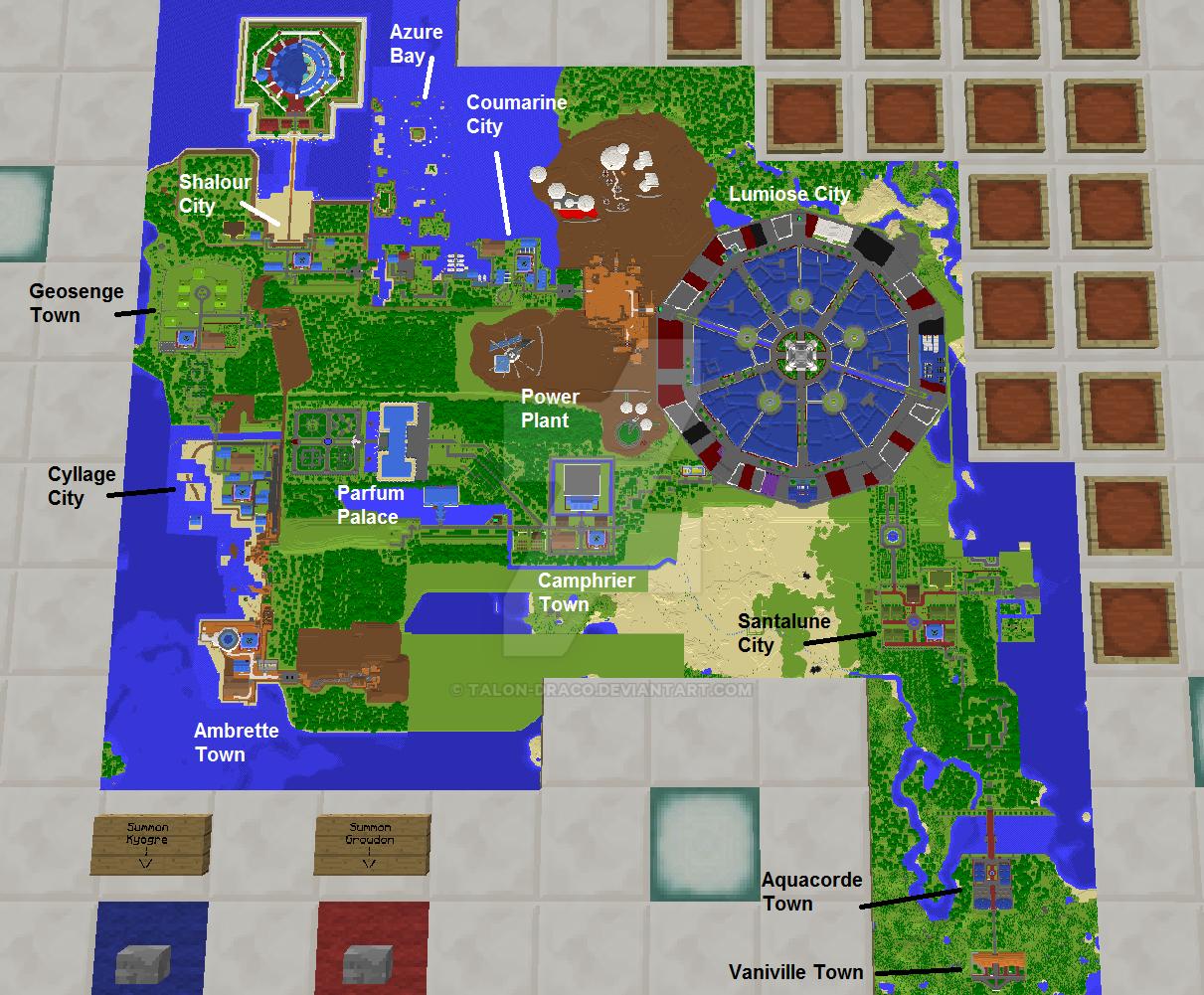 Kalos Map So Far 4 By Talon Draco On DeviantArt