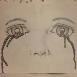 From where do you cry? (sketch practice) by PURPLEJACKET444