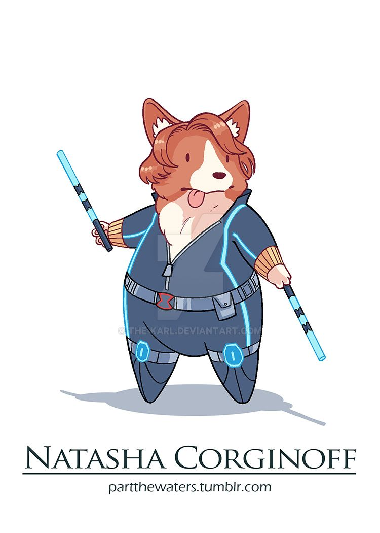 Natasha Corginoff by the-karl