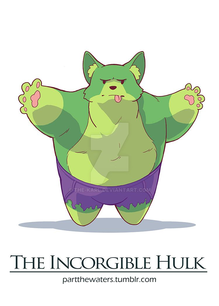 The Incorgible Hulk by the-karl