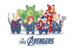 The Corgi Avengers