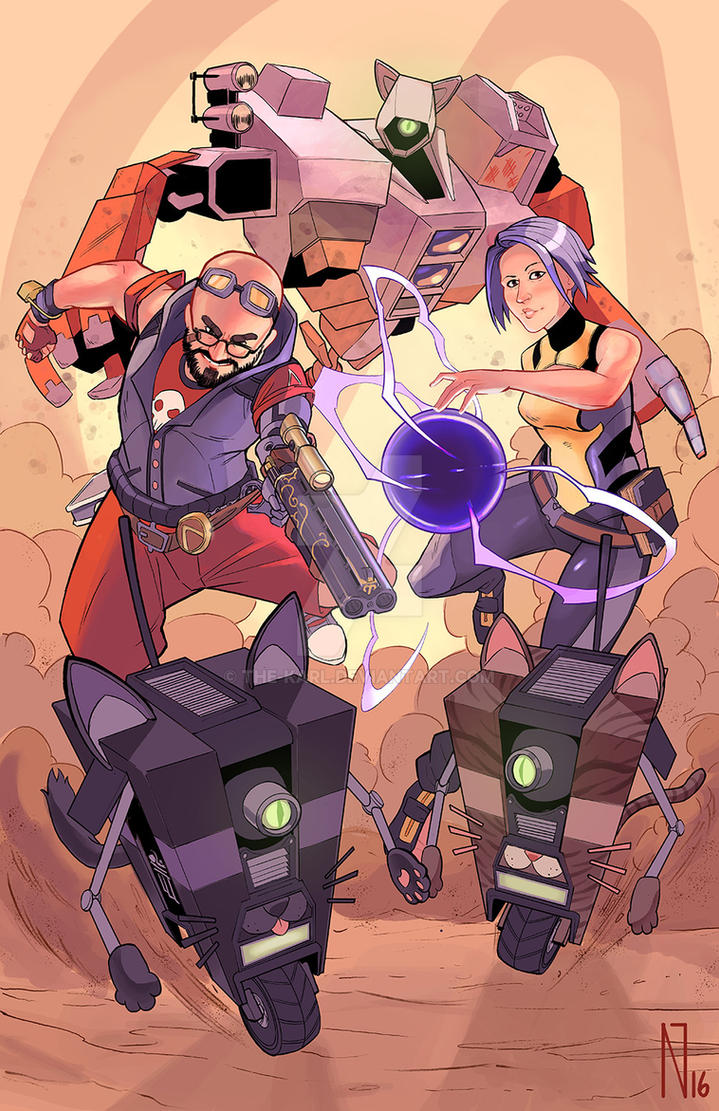 Commission: Borderlands 2 by the-karl