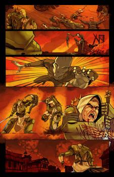Commission: Dark Angel Comic Page