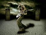 rock on desert