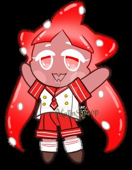 [COOKIE RUN CUSTOM] Gelato Squid Cookie