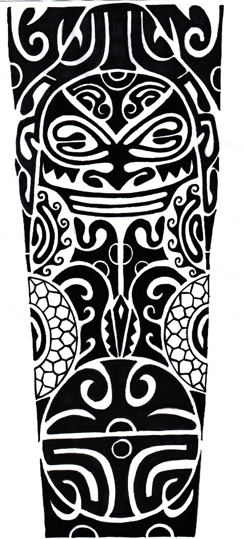 Polynesian tattoo by crimsonkanji on deviantart for Polynesian tattoo designs