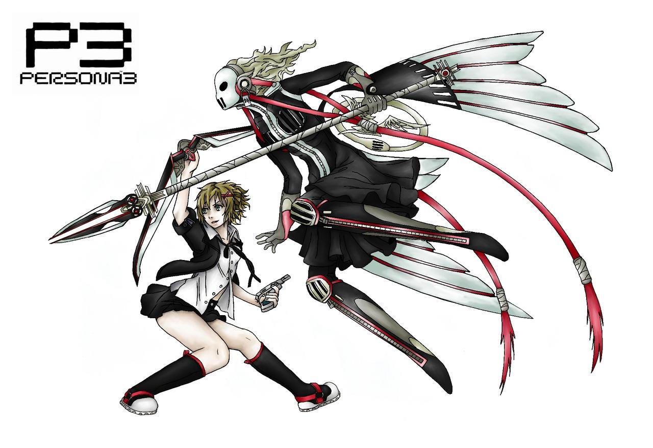 Persona 3 - Asuna and Izanami by CrimsonKanji on DeviantArt Akihiko Persona