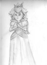 Princess Peach by Jewuo