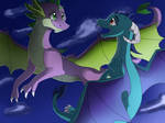 Spike and Ember