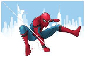 Spider-Man by SumtimesIplaytheFool