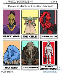 Six fanarts - Star Wars II
