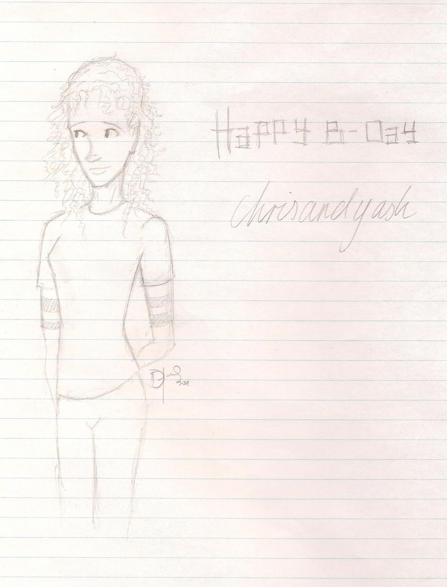 Happy B-Day Chrisandyash by JaydeeMe