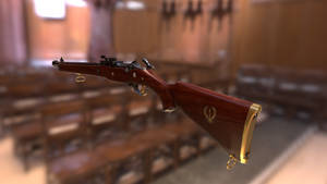 Fenrir Rifle Render #2