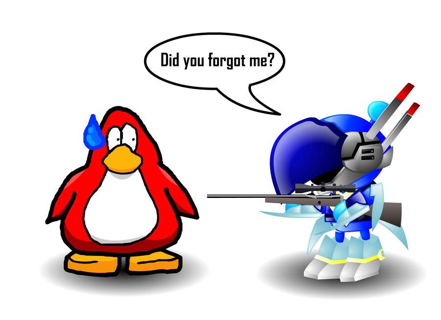 penguin bomberman