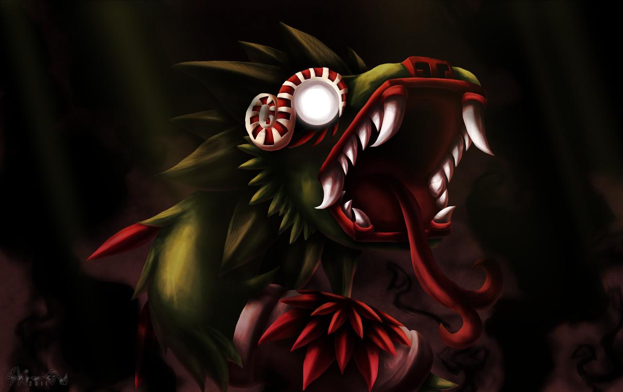Quetzalcoatl tempted by Shi-Gu