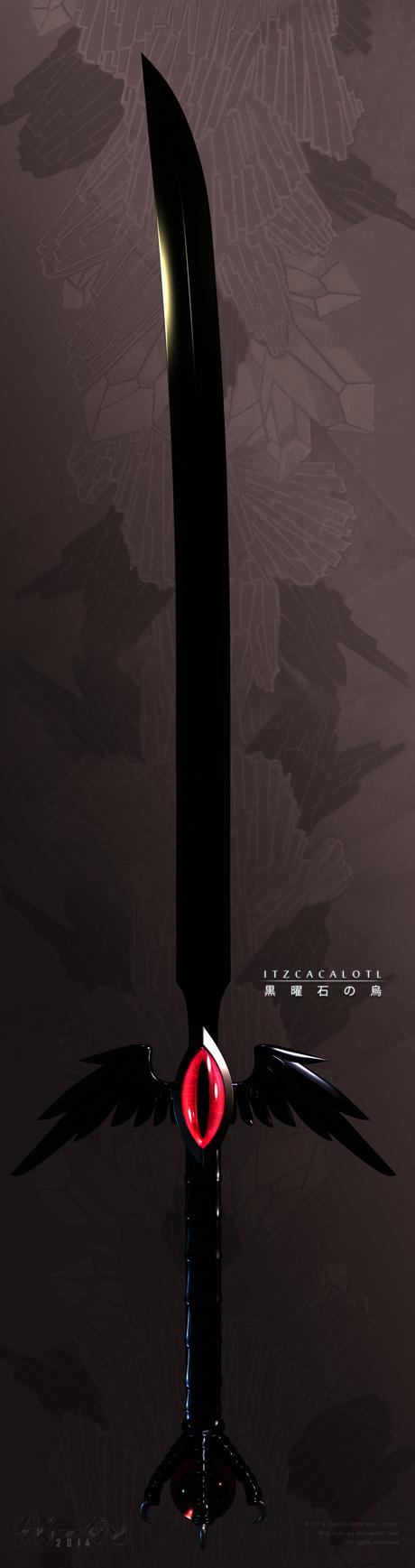 Itzcacalotl's Sword - Big by Shi-Gu