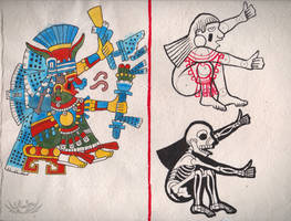 Codex Tlauetziyok - 01 - Chalchiuhtlicue by Shi-Gu